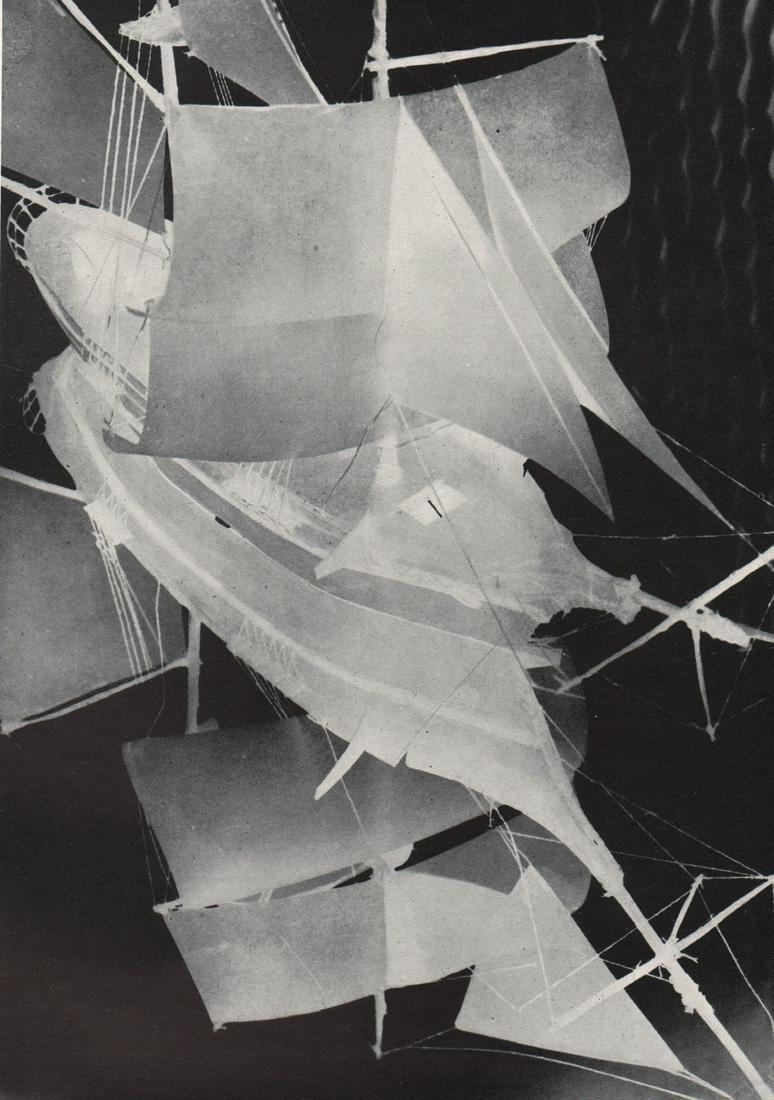 RENE ZUBER - The Phantom Ship, Negative Photo
