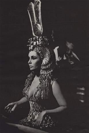 KEN HEYMAN - Elizabeth Taylor in Cleopatra, 1960's