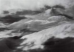 ANSEL ADAMS - Crater of Haleakala, Hawaii, 1947