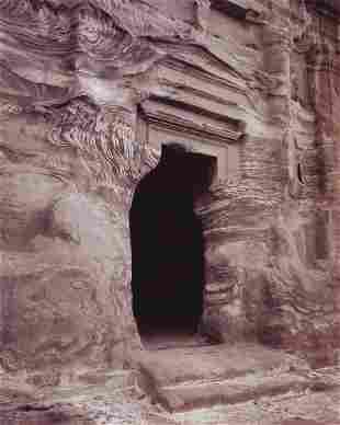 LINDA CONNOR - Tomb Doorway, Petra, Jordan, 1995