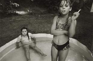 MARY ELLEN MARK - Amanda and Her Cousin Amy, 1990