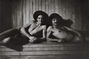SEBASTIAO SALGADO - Sauna for Workers, 1987