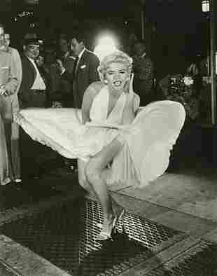 """SAM SHAW - Marilyn Monroe, """"Seven Year Itch"""", 1954"""