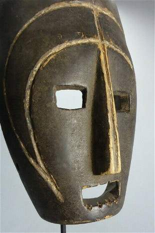 RARE and LARGE SONGOLA Mask Congo Rdc African Tribal