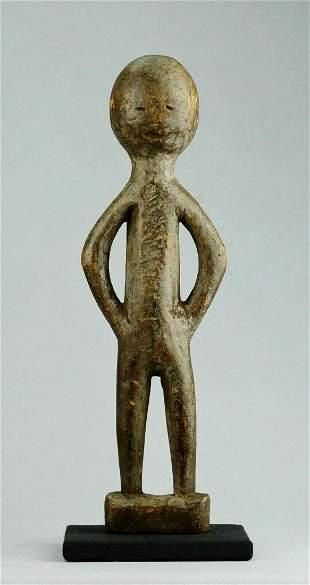 TANZANIA ? Cute anthropomorphic figure Statue African