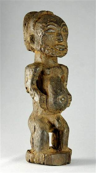 Powerful Singiti HEMBA ancestor figure Congo DRC