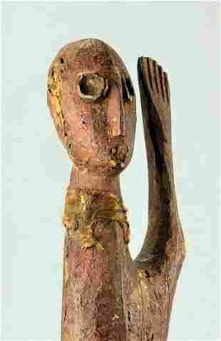 LEGA Large & rare Figure statue Bwami Cult Congo Drc