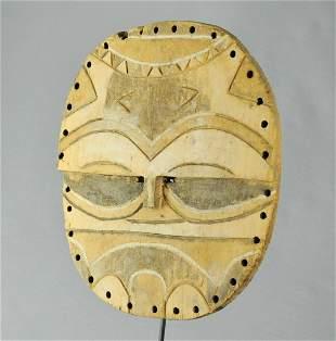 Beautifull TEKE Tsaye Kidumu Mask Congo African Tribal