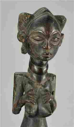 Fine LUBA Classical Cult Figure Statue Congo DRC