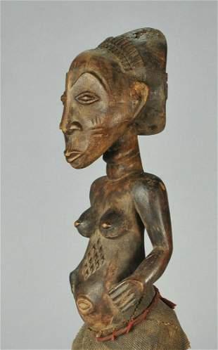 Large LUBA cult figure statue sculpture Congo African