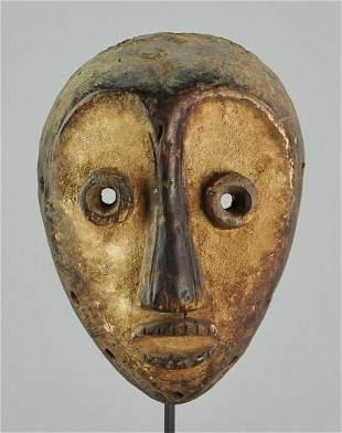 LEGA Nice idimu Mask cult of the Bwami Congo Drc
