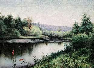 Oil painting Far from everyone Unknown artist