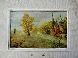 Oil painting At home Unknown artist