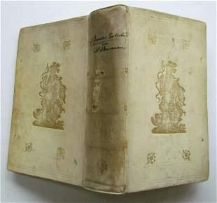 1778 AESOP'S FABLES by Phaedrus antique Schoolprize