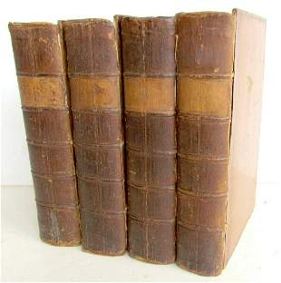 1788 4 VOLUMES JUSTICE of PEACE & PARISH OFFICER