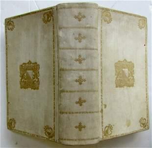 1762 ATTIC NIGHTS by SULUS GELLIUS SCHOOLPRIZED VELLUM
