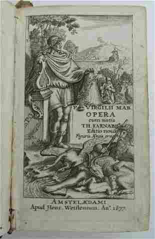 1677 VIRGILII MARONIS BUCOLICA OPERA ILLUSTRATED