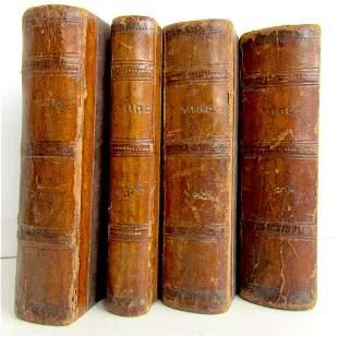 1923 4 VOLUMES JEWISH HOLIDAYS PRAYERS Judaica antique