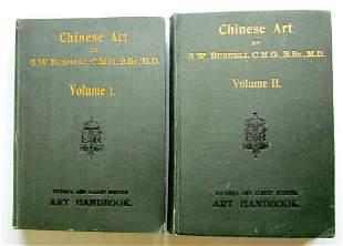 CHINESE ART by S.W. BUSHELL 2 VOLUMES 1904-1906