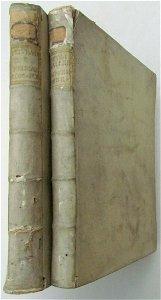 1770 2 volumes VELLUM BOUND ROMANORUM PONTIFICUM by