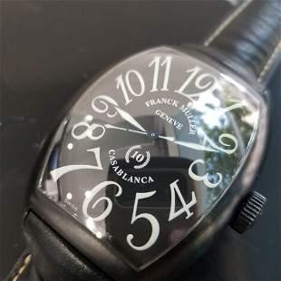 Mens Franck Muller Casablanca 10th Anniversary LE 39mm