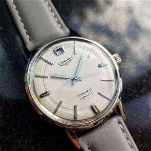Mens Longines Conquest Ref.9024 35mm Date Automatic,