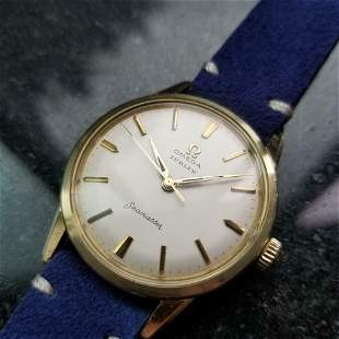 Omega Seamaster Turler Dial 35mm Gold-Cap Hand-Wind,