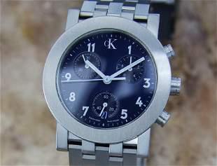 Mens Calvin Klein CK 33mm Quartz Chronograph w/Date,
