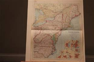 1878 Map of the US