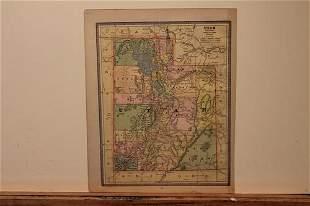 1885 Map of Utah
