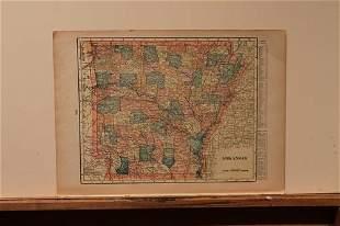 88 Map of Arkansas