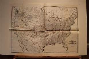 23 US Rail Road Map