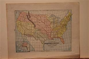 1887 US Territorial Acquisition Map