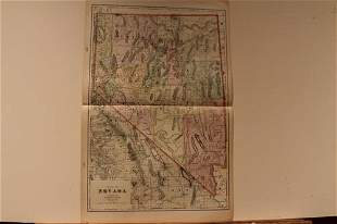 1895 Map of Nevada