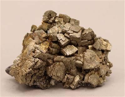 Pyrite cristals cluster