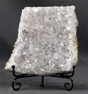 A huge Quartz + Goethit inclusions slab on elegant iron
