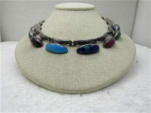 Sterling Silver Contemporary Southwestern/Mexican