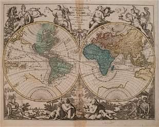 792 Elwe World Map -- Mappe Monde ou Description du