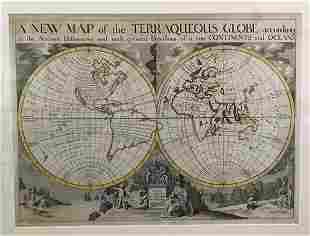 New Map of the Terraqueous Globe
