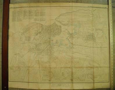 Military map of Habana and vicinity, 1898
