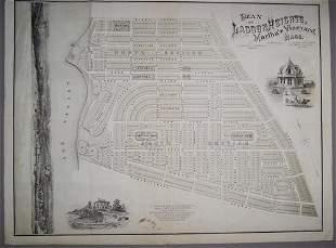 Plan of Lagoon Heights, Martha's Vineyard, Mass.