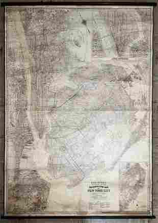 Rand McNally/2600 Feet to an Inch/Metropolitan Map /of
