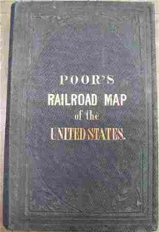 Map of All the Railroads in the United States in
