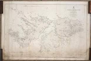 Falkland Islands Surveyed by Captn. Robert Fitz Roy