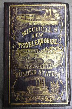 Mitchell's New Traveller's Guide Through the United