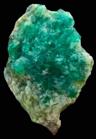 41 Carats World Rare Damage Free Lush Green Color