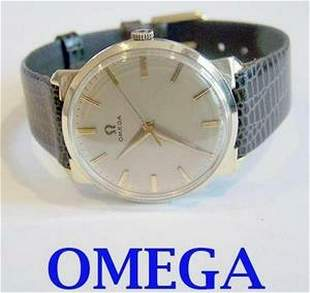 Solid Gold 14k OMEGA Winding Watch c.1959 Cal.520*