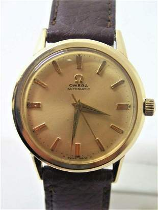 Vintage 10k GF OMEGA Automatic Watch 1960s Cal.550 Ref