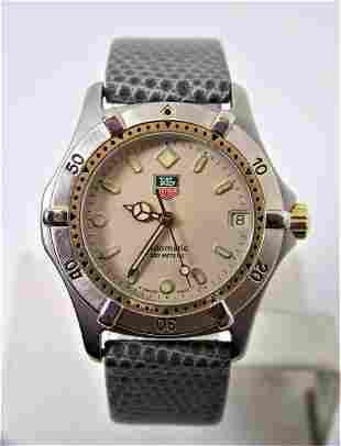 Unisex TAG HEUER Automatic 200M Watch 665.713T* EXLNT