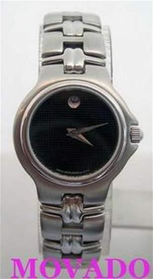 S/Steel MOVADO OLYMPIAN Ladies Quartz watch 84.A1.827.2